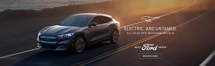 All New - All-Electric 2021 Ford Mach-E